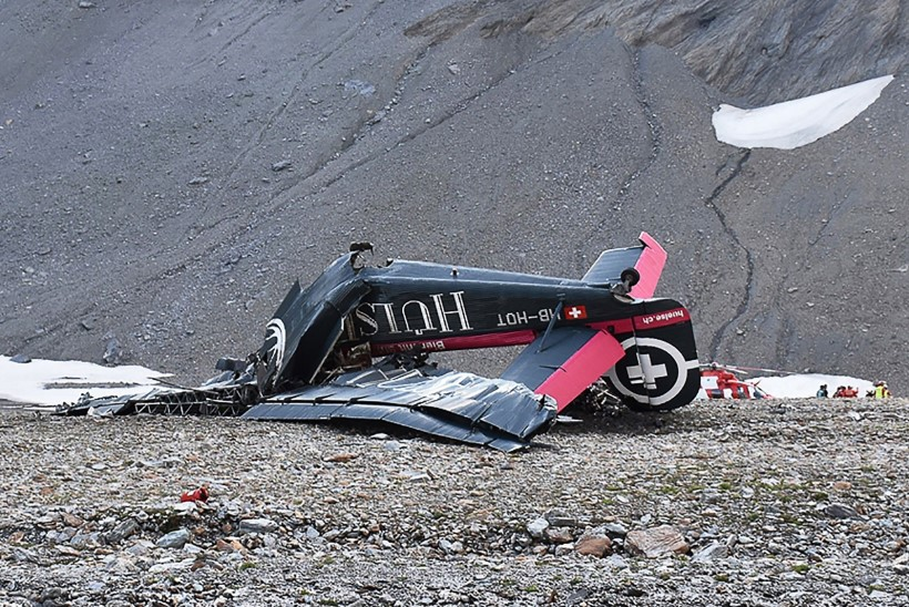 FOTOD | Šveitsi Alpides hukkus lennuõnnetuses 20 inimest