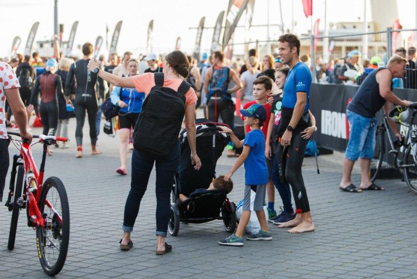 GALERII | Vägeva etteaste teinud Marko Albert sai Tallinna Ironmanil kolmanda koha