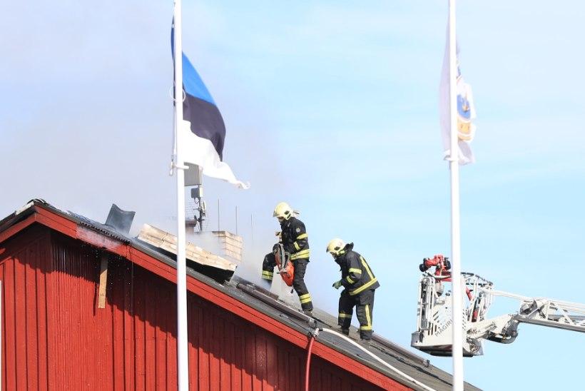 FOTOD JA VIDEO | Kaberneemes põles populaarne restoran