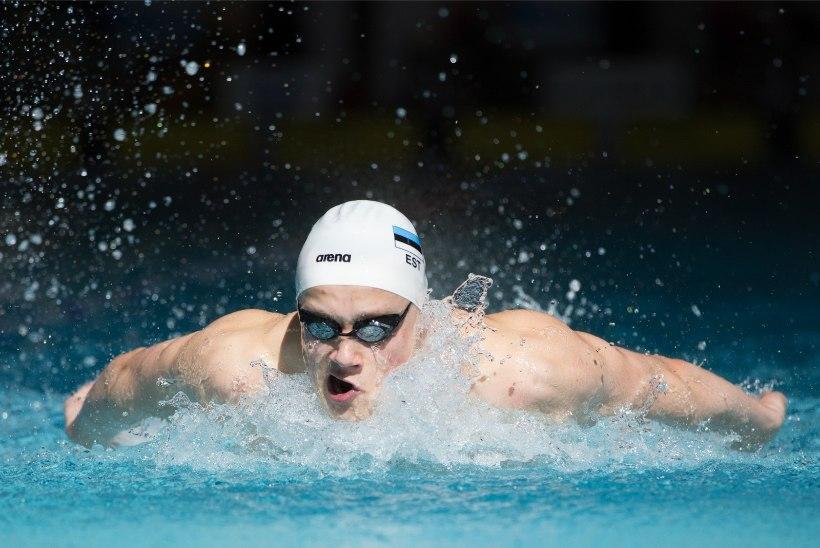 Daniel Zaitsev jõudis ujumise EMil hiilgava Eesti rekordiga poolfinaali!