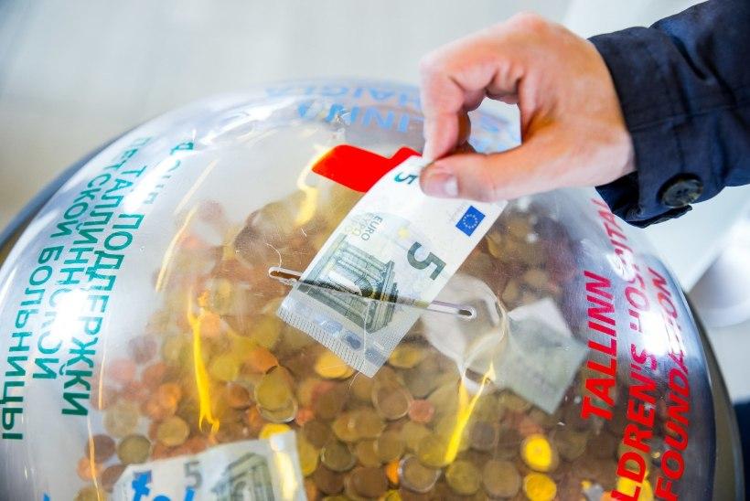 Annetuskastist raha virutada tahtnud poiss anti üle politseile