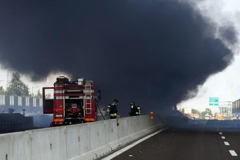 VIDEOD   Itaalia kiirteel toimunud plahvatuses hukkus kaks inimest