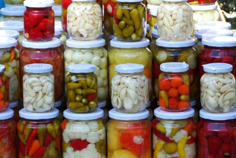 Tervislik suutäis! Laktobakterid hapendatud köögiviljades.