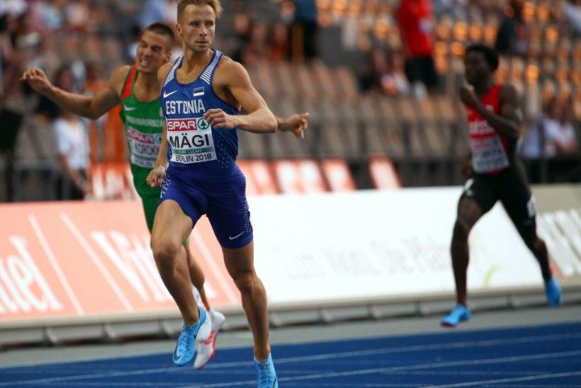 HÄSTI! Hooaja parima jooksu teinud Rasmus Mägi jõudis EMil kindlalt finaali
