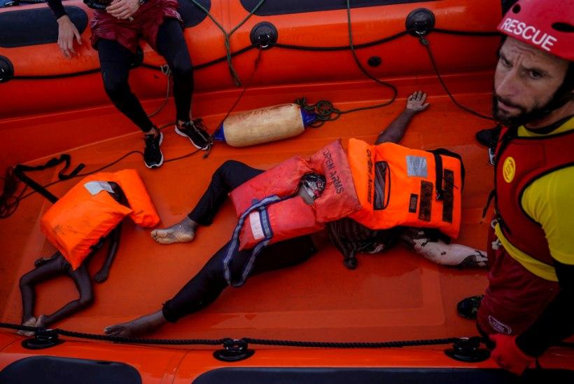 TRAGÖÖDIA: Vahemeres on tänavu uppunud 1514 migranti