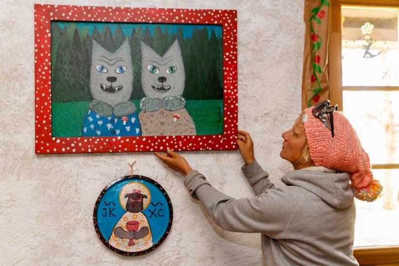 Kõrtsimammast kunstnik Ave Nahkur süüdistab ajaloolise talu äpardunud ostjat pahatahtlikkuses