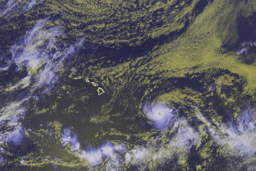 Hawaiile läheneb orkaan Hector