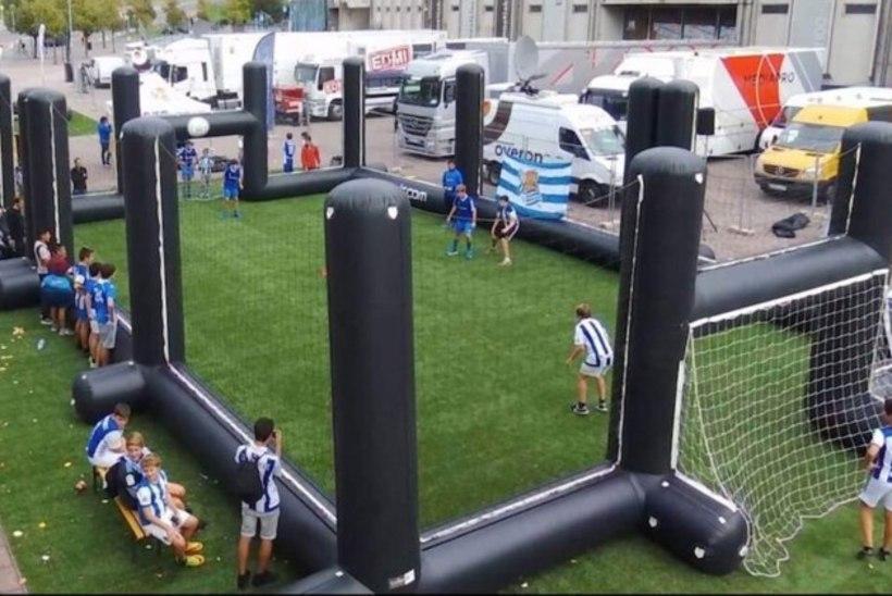 TOHOH! Vabaduse väljakul hakkavad jalgpalli mängima teiste seas Puhkus Mehhikos ja Lebo Ülesanne