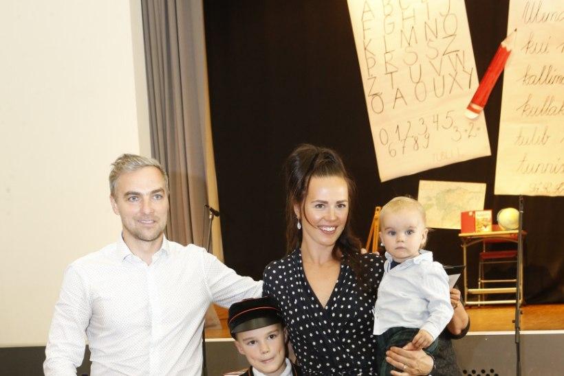 Helen Randmetsa vanim poeg alustas kooliteed: tegelikult on see ju rõõmusündmus, aga millegipärast vanematele on see kurb