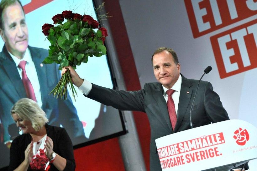 Sotsid põrusid Rootsi valimistel, peaminister tagasi ei astu