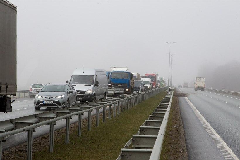Tallinna ringteel on suur ummik