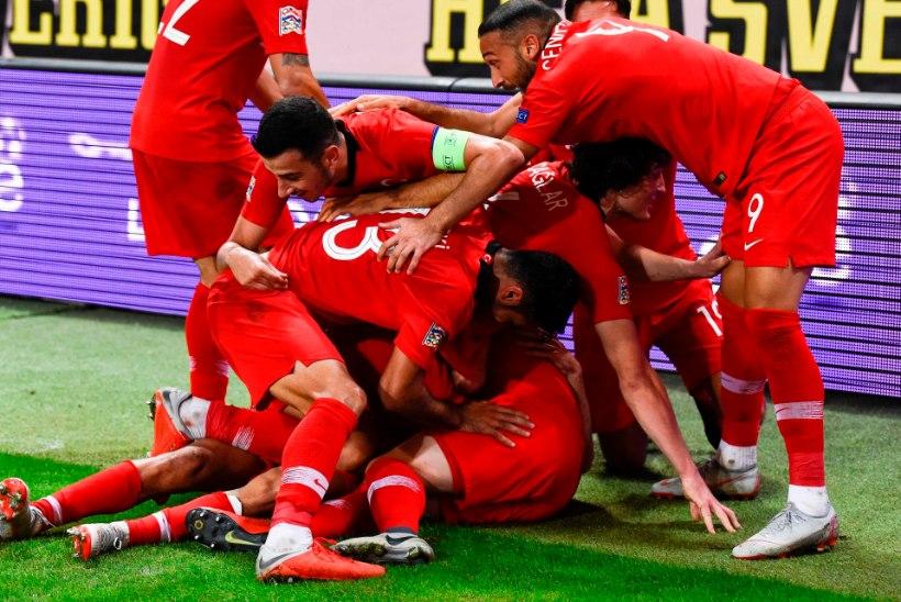 VIDEO | Vaata, kuidas Rootsi mängis Türgi vastu maha 2:0 eduseisu
