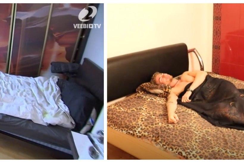 VAATA JA VÕRDLE: kus magab Jaak Madison ja kus strippar Marco?