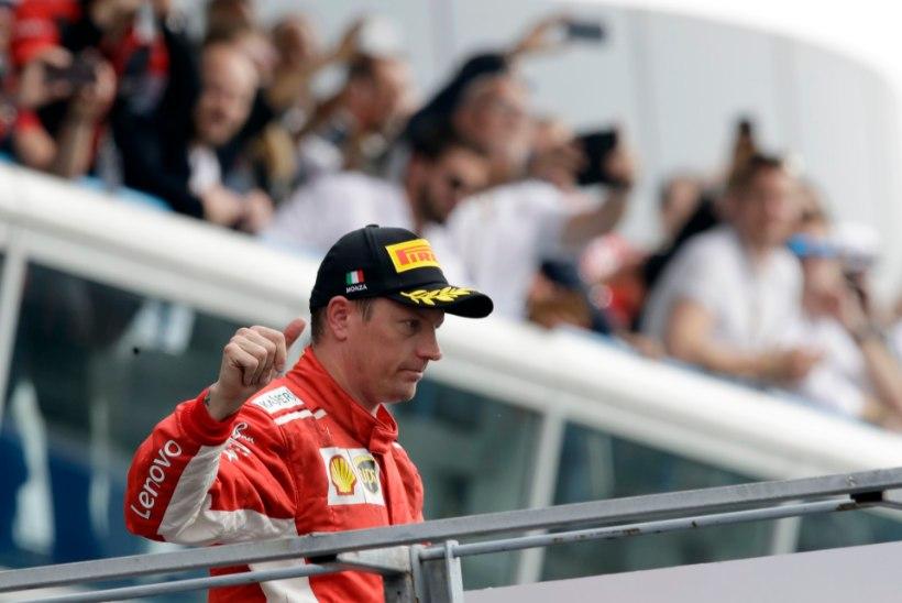 Ferrari: Kimi Räikkönen lahkub meeskonnast