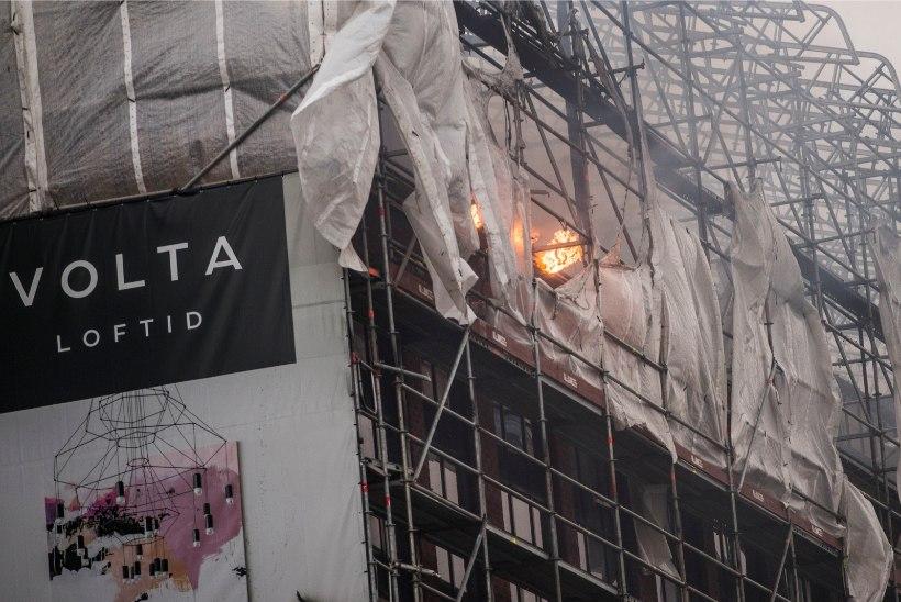 Volta Loftide põlengu põhjused jäävadki saladuseks