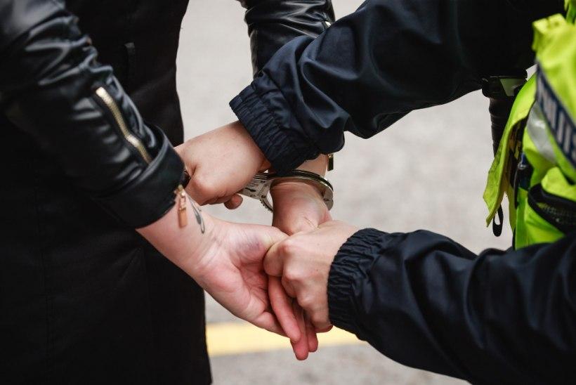 Politseinikud pidasid kinni Narvas tulirelva kasutanud mehe