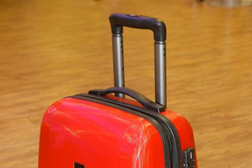 Lennujaamades terveks jäänud kohver on õnne küsimus