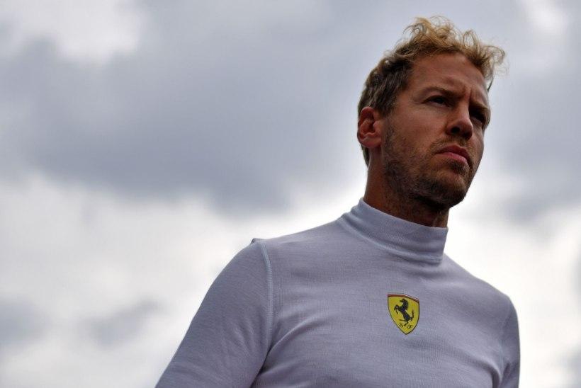 Sebastian Vettel: olen iseenda suurim vaenlane