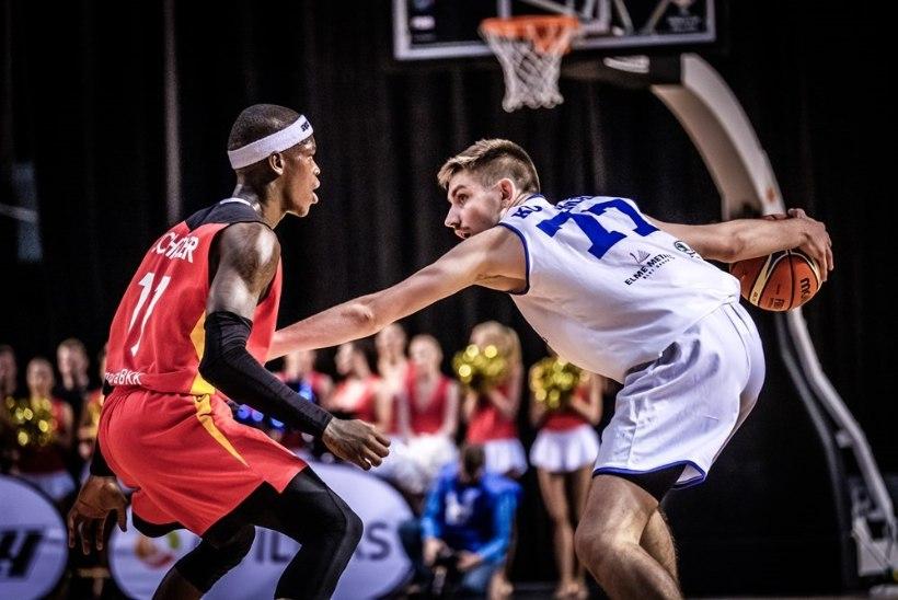 NII SEE JUHTUS | Eesti korvpallikoondis sai Saksamaalt kõva ketuka