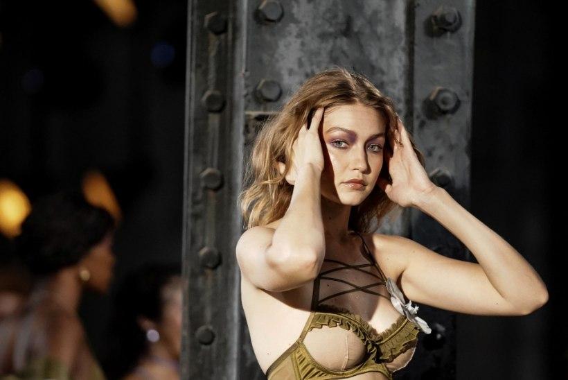 Seksikad Hadidi sõsarad näitasid Rihanna moešõul oma hullutavat figuuri