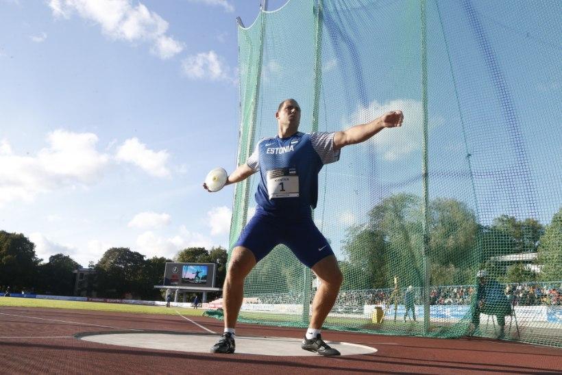 Gerd Kanteri viimane vaatus on lõppenud - olümpiavõitja valas areenil pisaraid