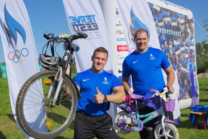 Septembri viimasel nädalal toimub Eestis üle 1000 spordisündmuse