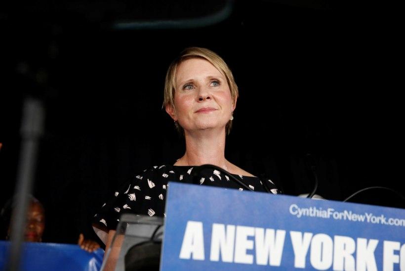 """""""Seksi ja linna"""" staar Cynthia Nixon hävis New Yorgi kuberneri valimistel"""