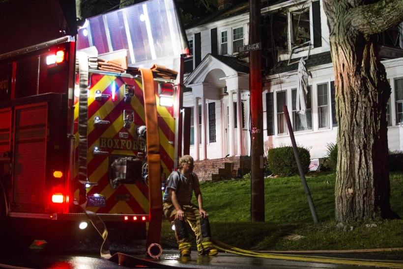Massachusettsis toimus kümneid gaasiplahvatusi