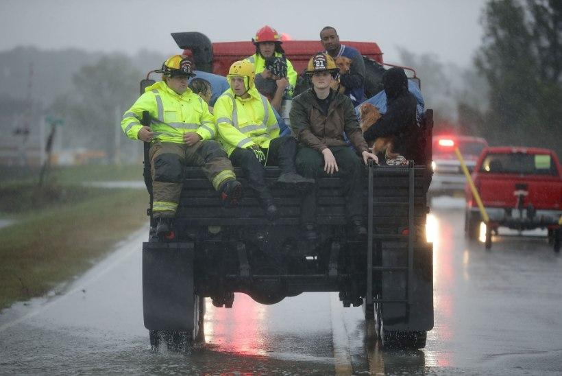 Katrina järel loodud vabatahtlike päästjate ühing on Florence'i küüsist päästnud juba 160 inimelu