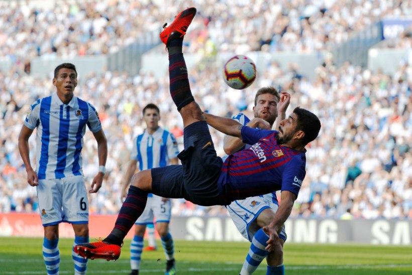 Barcelona jätkab täiseduga, Atletico käsi käib endiselt kehvasti