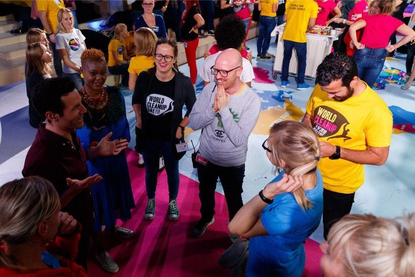 FOTOD | Mart Normet pärast 24-tunnist maailmakoristuspäeva saadet: praegu on selgelt eufooriline olukord!