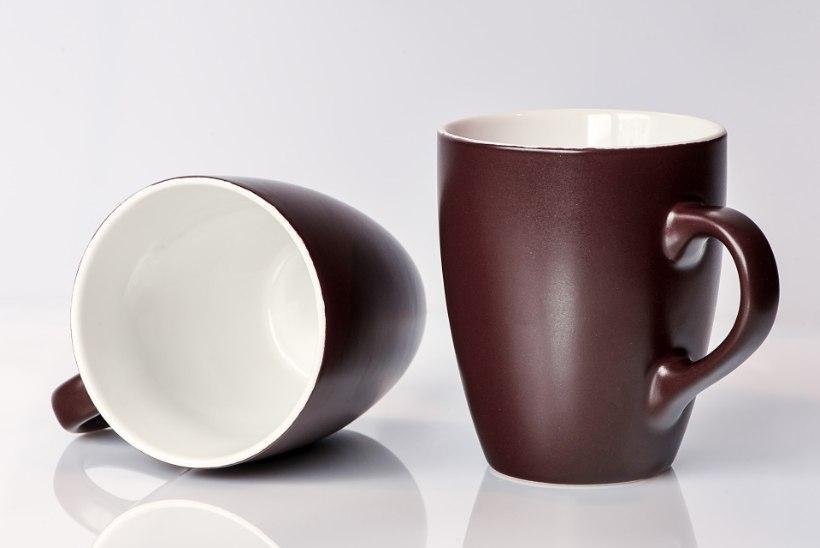 Kohvi- ja teerandid 3 sekundiga puhtaks!