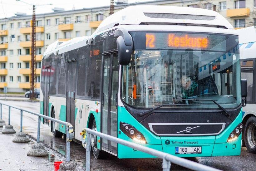 Autovabal päeval on Tallinnas ühissõidukid kõigile tasuta