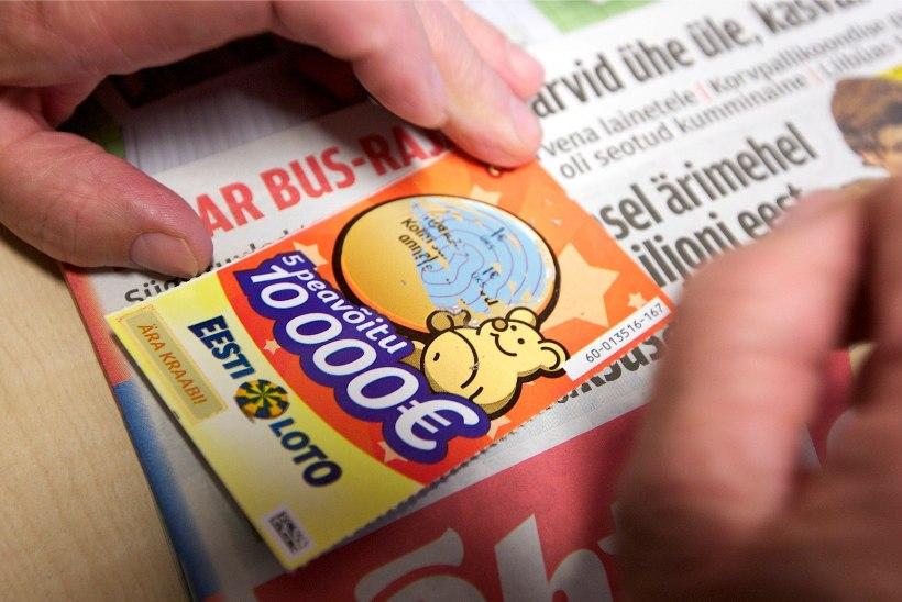 8290 euro eest lotopileteid varastanud naine sai tingimisi karistada