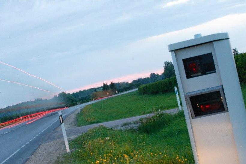 Tarkvarauuendusel tekkinud vea tõttu tühistatakse üle 200 kiiruskaamera trahvi