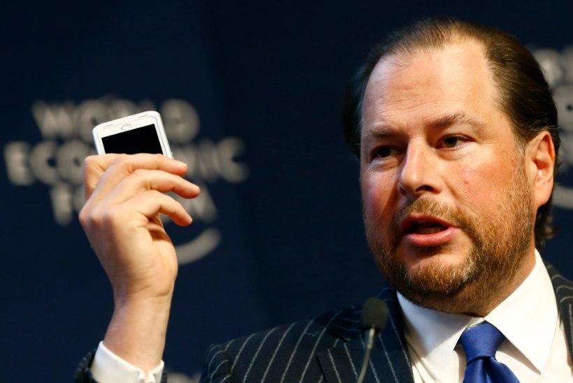 Time vahetab taas omanikku: ajakirja ostab ära miljardär Marc Benioff