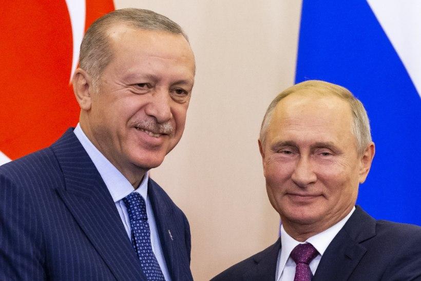Putin ja Erdogan leppisid kokku Süürias sõjavaba tsooni kehtestamises
