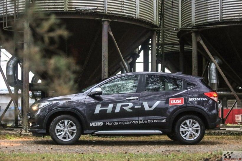 Teenimatult tähelepanuta jäänud: Honda HR-V kompaktne kõikjalsõitja