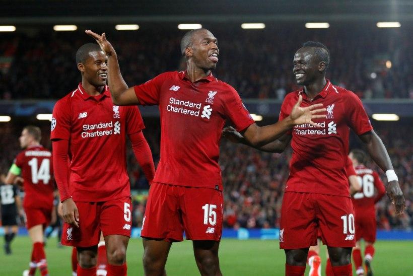 Liverpool murdis PSG üleminuti väravast, serblased hoidsid Napoli kuival