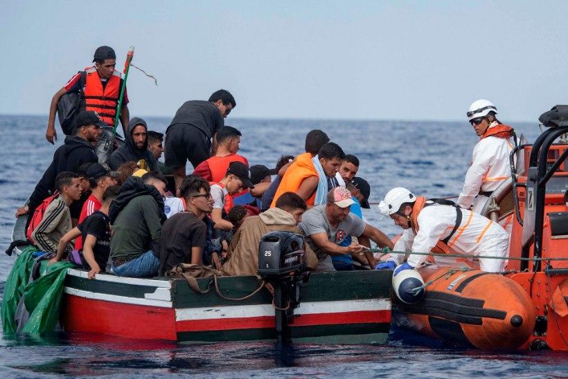 RÄNDEKRIIS KESTAB: tänavu on üle Vahemere saabunud 77 555 migranti