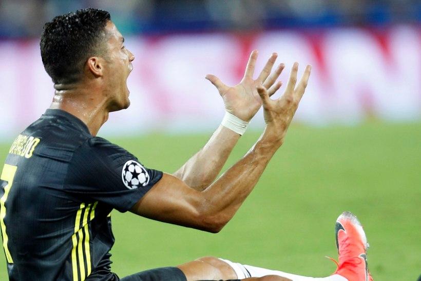 Kas Cristiano Ronaldo sai tõesti punase kaardi pai tegemise eest?