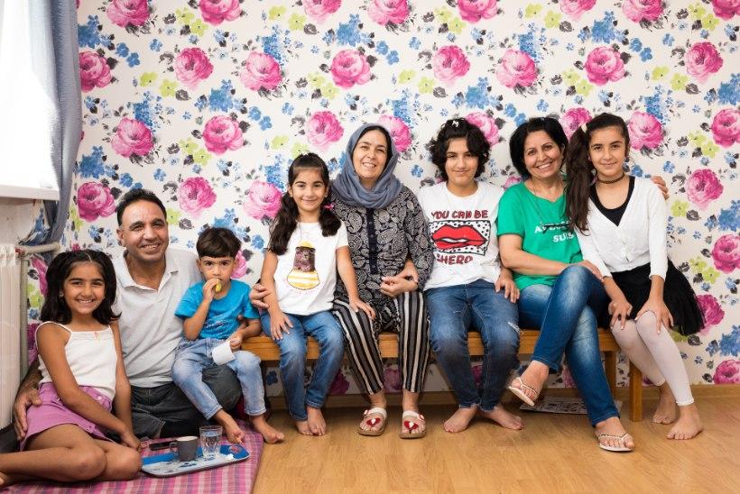 Süüria pere Eestis: me ei teadnud, et siin on nii külm