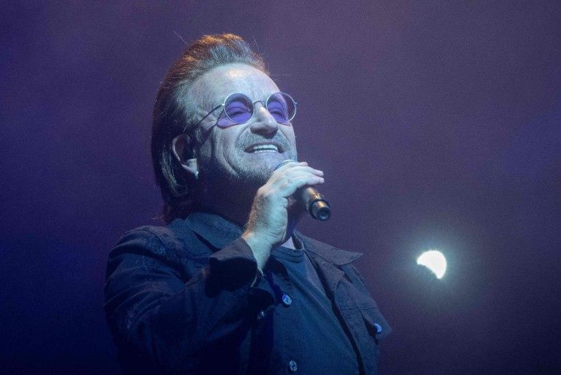 Fännid pettunud: Bono kaotas keset kontserti hääle