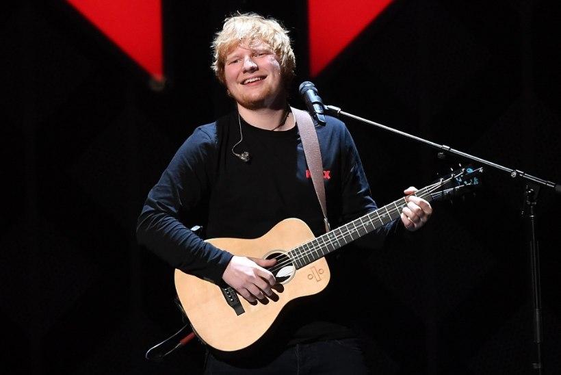 Ed Sheeran esineb järgmisel suvel nii Riias kui ka Helsingis