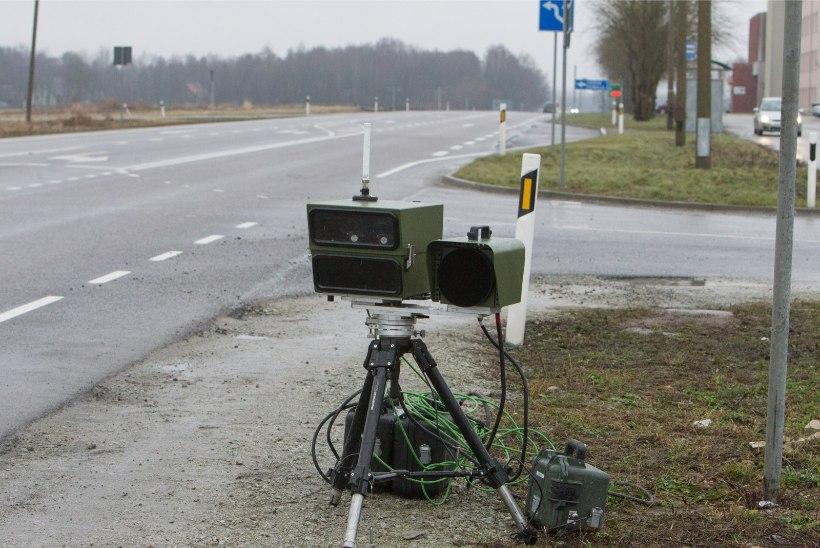 Pedaalitallajad, võtke hoog maha! Uuel aastal hakatakse kiirust mõõtma mobiilsete kiiruskaameratega