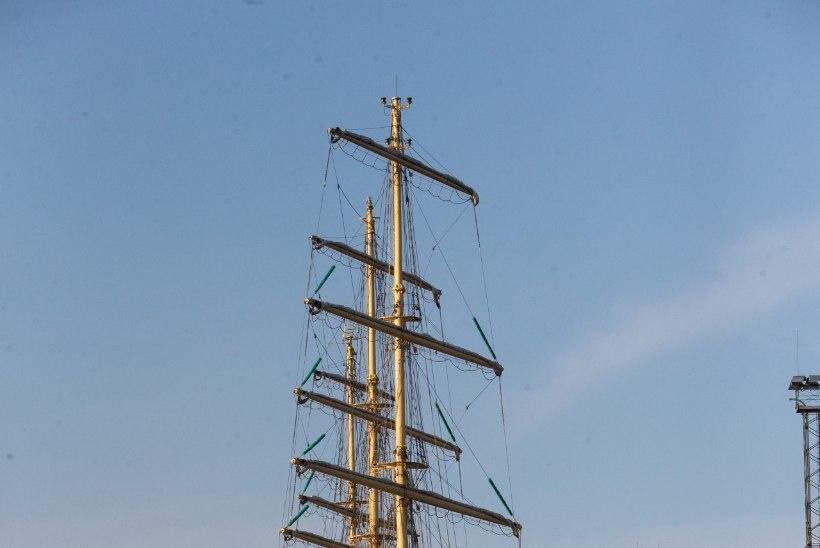 GALERII | Tallinna Vanasadamas jäid ankrusse kaks uhket purjelaeva