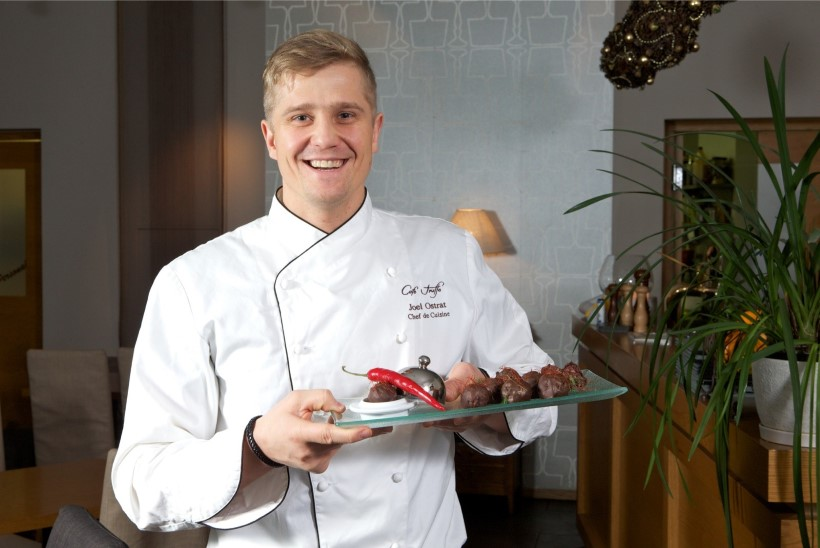 Palju õnne! Restoraniärimees Joel Ostrat abiellus Itaalias