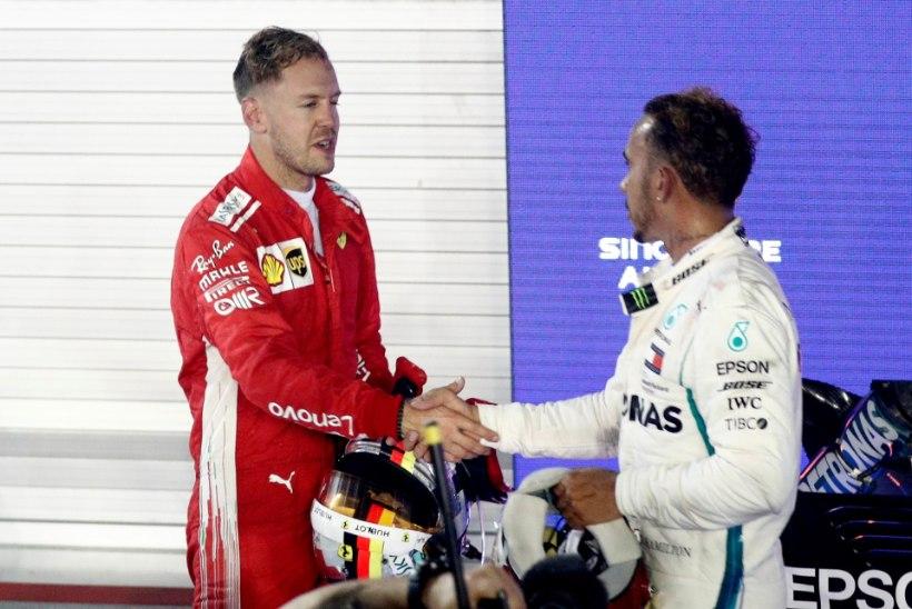 STATISTIKA | Ühes arvestuses edestab Vettel Hamiltoni tänavu pika puuga!