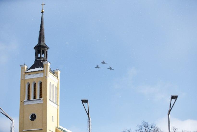 Õhuturbe lennukid harjutavad tuleval nädalal Eesti õhuruumis