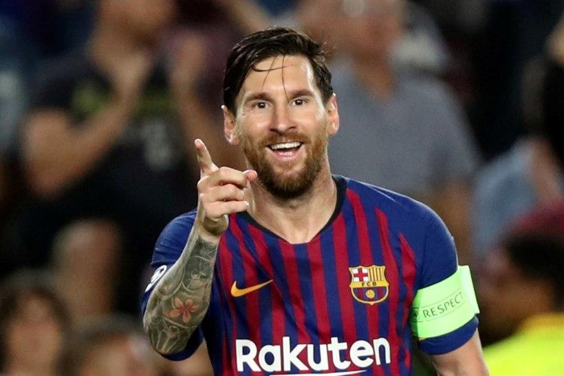Lionel Messi püstitas Hispaania liiga mängus juba väljakule astumisega järjekordse rekordi!